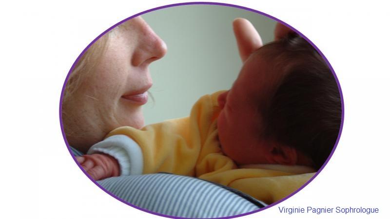 Sophrologie la rochelle virginie pagnier hypnotherapeute sophrologue maman bebe1 1